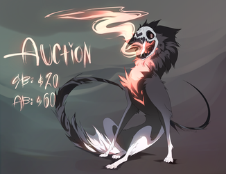 25:AdoptableAUCTION=Eternal Madness=[CLOSED] by Teal-Fox-z