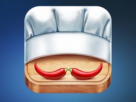 New Fork App Icon Design by Ramotion