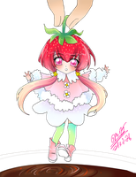 Adoptable [closed] Auction-Strawberry Girl by Yaoihyper-Adoptable
