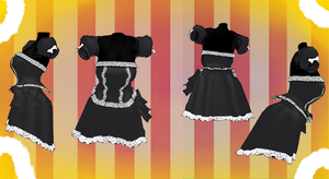 MMD Outfit 53 by MMD3DCGParts