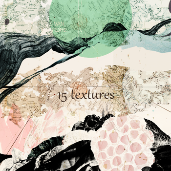 15 misc textures by monsyrell