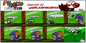 Phillo and Greyeen: The Helloween Special by Waltman13