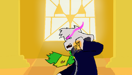 storyswap colour asriel by byoneproductions