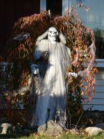 Ghost Halloween Decorations 2 by FantasyStock