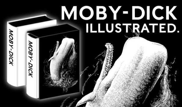 Moby-Dick Illustrated by devilevn