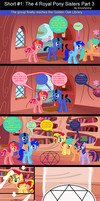 Short #1: The 4 Royal Pony Sisters Part 3 by EmoshyVinyl