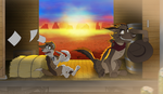 Contest entry: By Our Side Of The Tracks by Artich0ker
