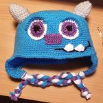 Monster Inc Wazowski hat by magicandcrochethook