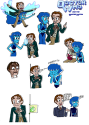 Doctor Who and the Water Witch by TripodArts