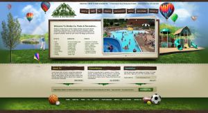 Shelby Co Parks website design by Stephen-Coelho