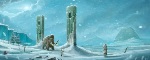 Ancient Civilization ice age by OXISO