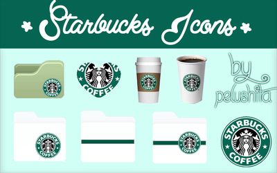 Starbucks Icons by PelushitaPetisuit