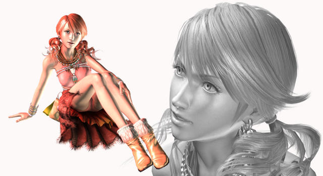 Vanille: My favourite Final Fantasy XIII Character by PhilipMessina