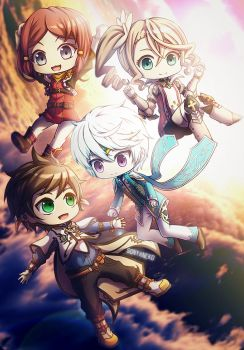 Tales of Zestiria by SoNyaNeko