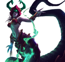 Cassiopeia Jade Fang Render by SilentLipz