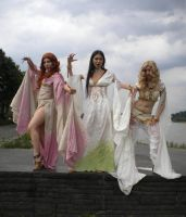 Dracula's three brides by LiaDeBeaumont