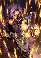 FUTURE TRUNKS from Dragon Ball by marvelmania