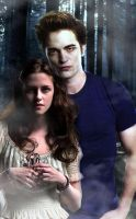Edward and Bella by UnfortunateSmile