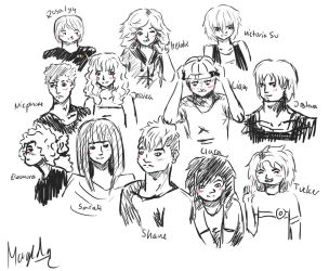 Sketchdump - all of them by MagiTheLion