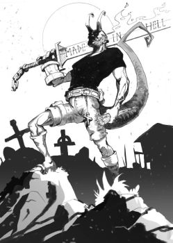 Hellboy by androsm