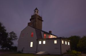 Low Light In Rockport, Sky and Building by Miss-Tbones