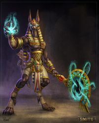 Official Smite Anubis Concept by PTimm