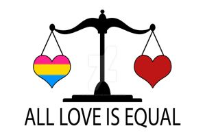 All Love is Equal with Pansexual Heart by lovemystarfire