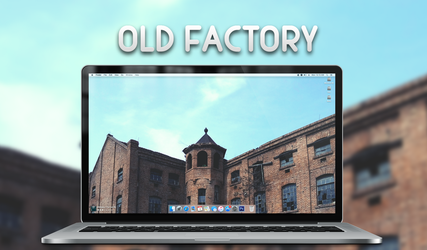 Old Factory Wallpaper by BomBerOne666