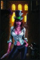 Madness of Wonderland Cover by Kromespawn