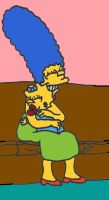 Marge and  Maggie by dragonlorest