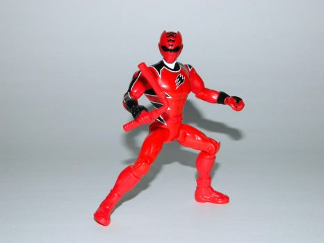 Red Jungle Fury Ranger Action Hero by LinearRanger