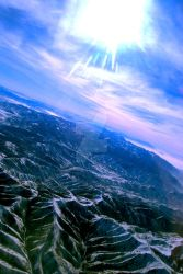 Mountains and Valleys by wordpainter81