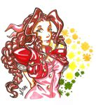 Aerith Gainsborough by nicolassalio