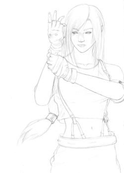 FF - Martial Artist WIP1 by Cataclysm-X
