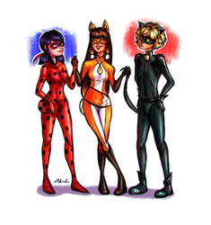 Team Miraculous by MiKeiLo