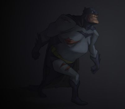 Dark Knight returns by svenstoffels