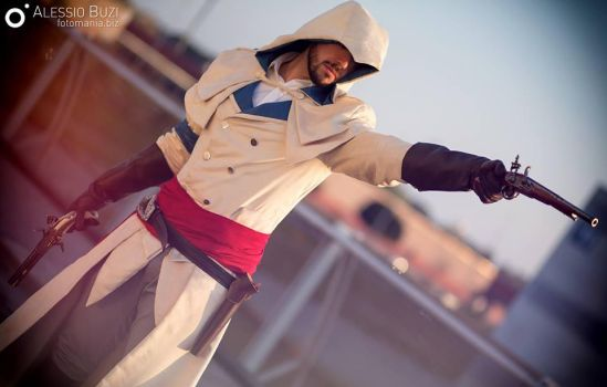 Arno Dorian Cosplay (WhiteVersion)- FIRE! by 6Silver9