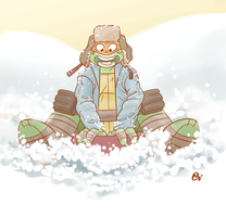 TMNT Advent Calender: Snow by Shellsweet