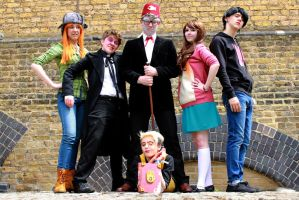 Gravity Falls (MCM Expo May 2015) by hildaglitz