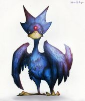 Golduck by Phillippeaux
