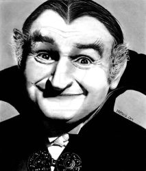 Al Lewis as Grampa on The Munsters by Doctor-Pencil