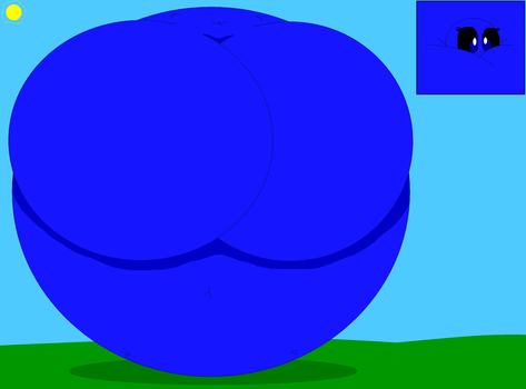 Zoey Lajen Olar Blueberry Inflation (REQUEST) by LuckyEmerald269