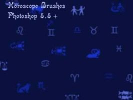 Horoscope brushes by amara1679