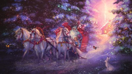 Ded Moroz by PerlaMarina