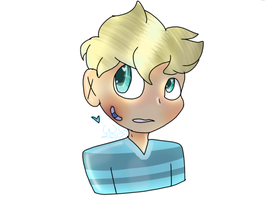 10 year old Garroth by Blueberrythehusk