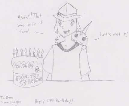 Happy Birthday from the Heroes!! by HewyToonmore