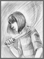 Chara - UNDERTALE by AlbinaDiamond