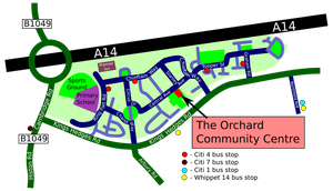 Orchard Park map by nunt