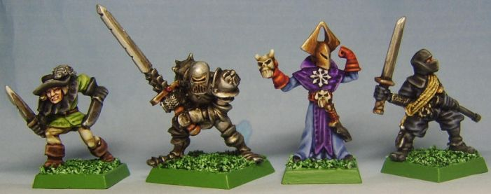 HEROES for DUNGEONQUEST II by FraterSINISTER