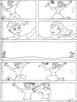 Comic Experiment no. 1 by melydia